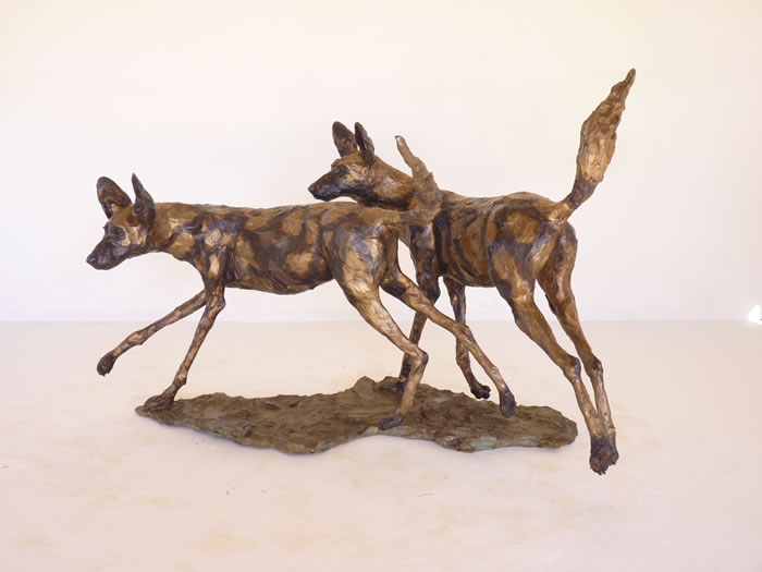 AFRICAN WILD DOG Life Size