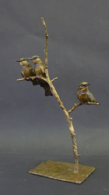 THREE LITTLE BEE-EATERS
